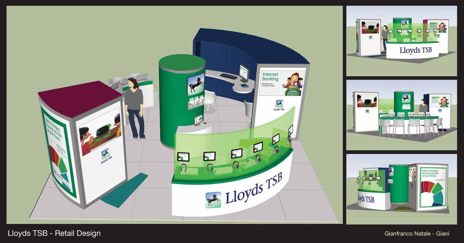 Brand Experience - Lloyds TSB - British National Retail