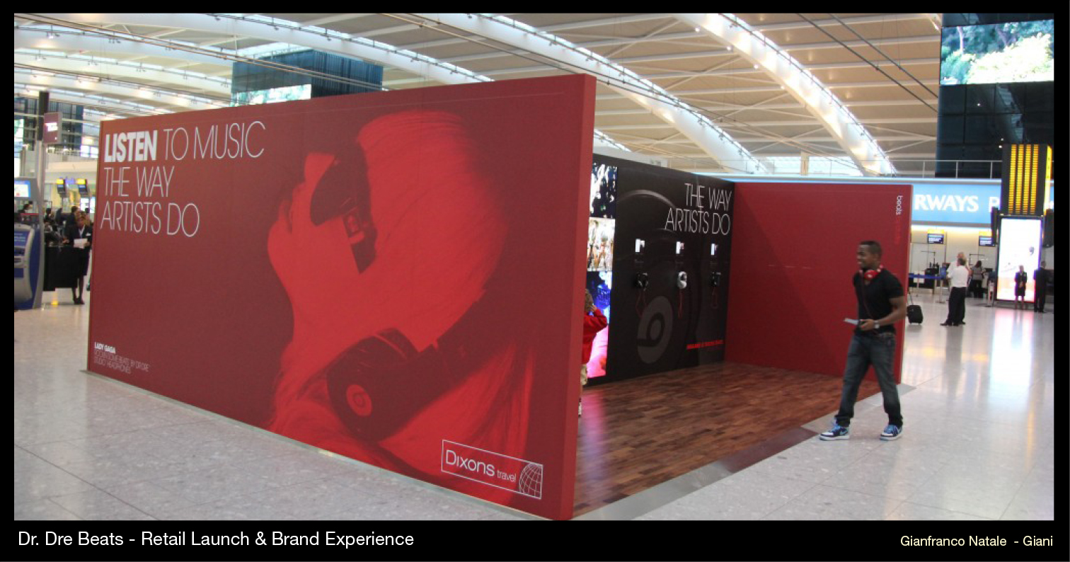 Dr. Dre Beats - Retail Launch & Brand Experience