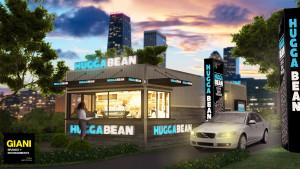 GIANI Brands & Environments Hugga Bean Franchise 001